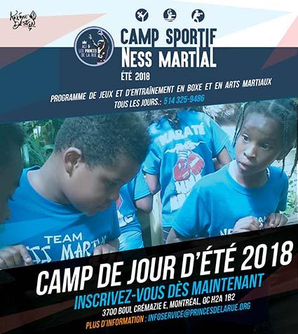 Camp de jour 2018